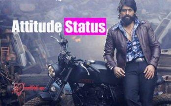 Attitude Status English and Hindi