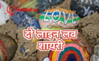 Do Line Love Shayari Hindi