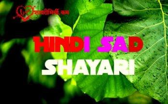 Hindi Sad Shayari Two Lines